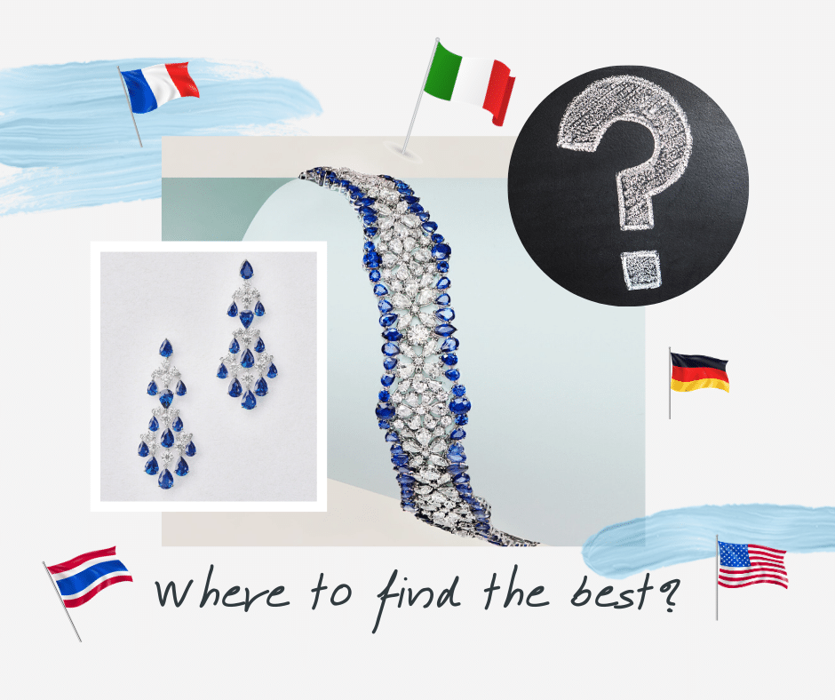 The Best Countries for Fine Jewelry Manufacturing